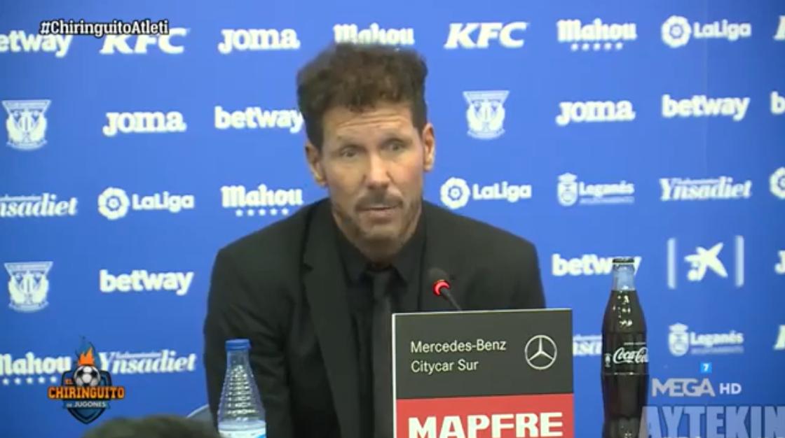 西蒙尼:马竞虽然富裕了,但从出身上我们还是平民球队