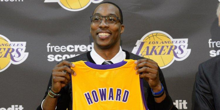 Shams:霍华德与湖人签约,新赛季将身披39号球衣