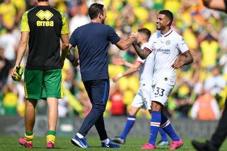 埃默松:切尔西会踢攻势足球,兰帕德也很喜欢这种风格