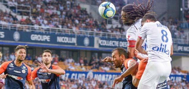 法甲:苏凯世界波破门科内染红,蒙彼利埃1-0里昂