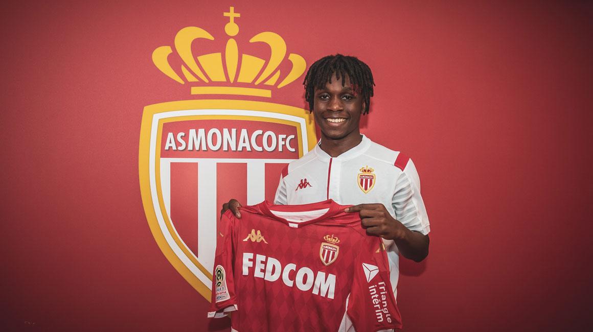 官方:摩纳哥签下巴黎17岁边后卫扎戈尔