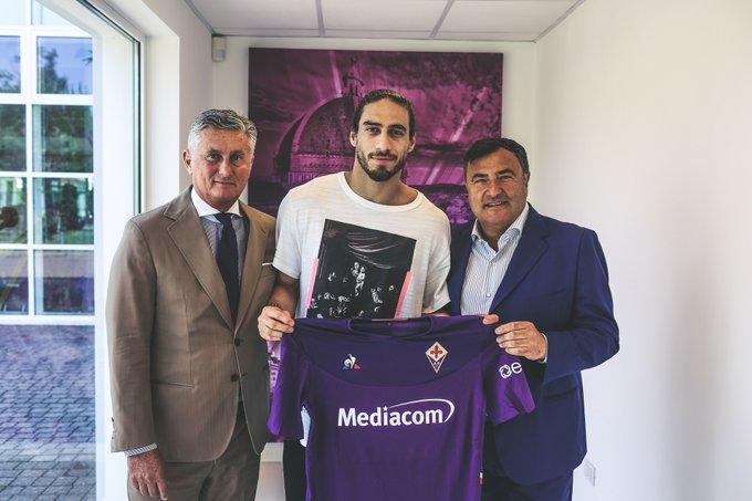 官方:佛罗伦萨签下自由身的乌拉圭后卫卡塞雷斯