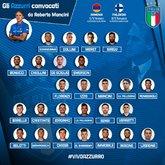 意大利大名单:沙拉维领衔,基耶萨、森西在列