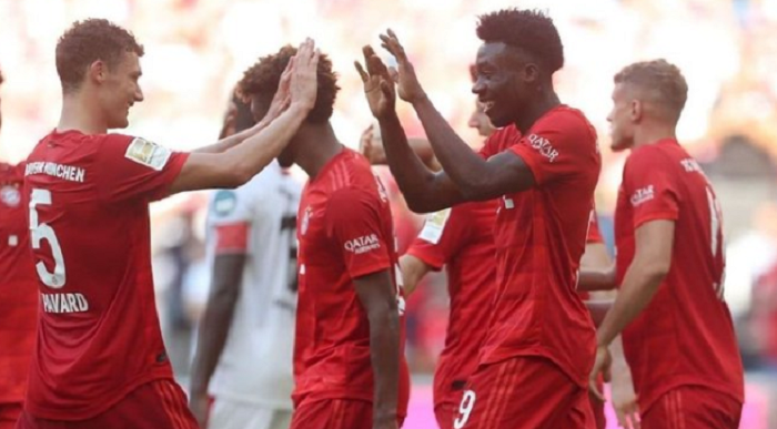 主场强势!拜仁过去14场德甲主场比赛取胜13次