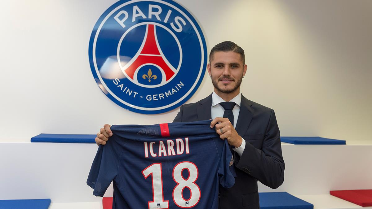 官方:伊卡尔迪租借添盟巴黎圣日耳曼,带买断条款