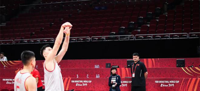 中国男篮罚球命中率63.5%,排名32支球队垫底