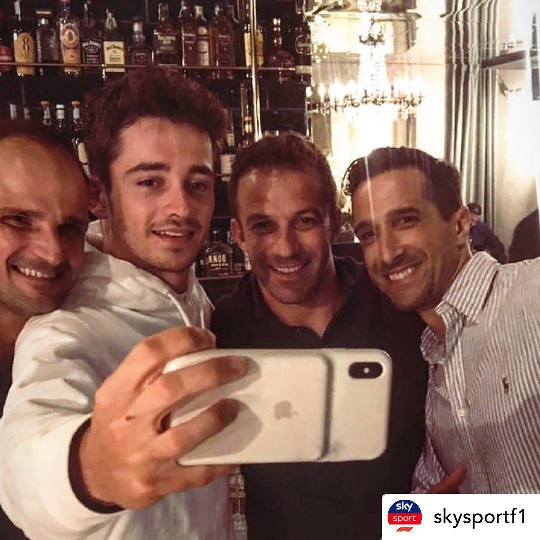 勒克莱尔拿下F1意大利大奖赛,皮耶罗送上祝愿:恭喜!
