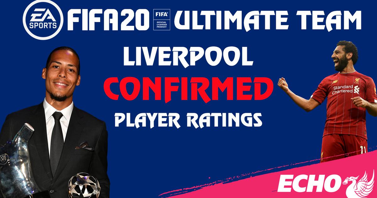 利物浦球员FIFA20数值:范戴克、萨拉赫均90并列第足球网址