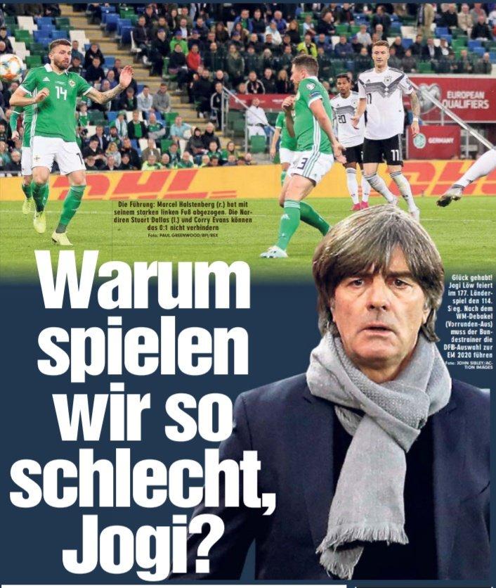 勒夫回应图片报发问:为什么德国踢这么差?我们还在重建