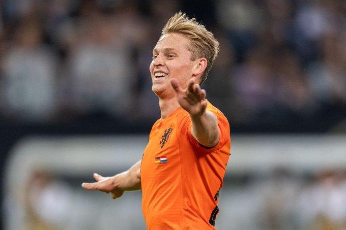 [数据板]德容国家队传球数据:属于荷兰的传球大师