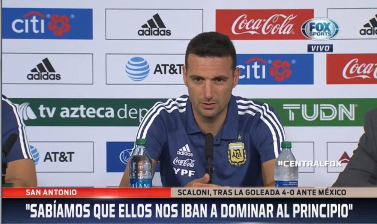 斯卡洛尼:再踢hg0088手机版次,阿根廷答该不会赢得这么轻盈