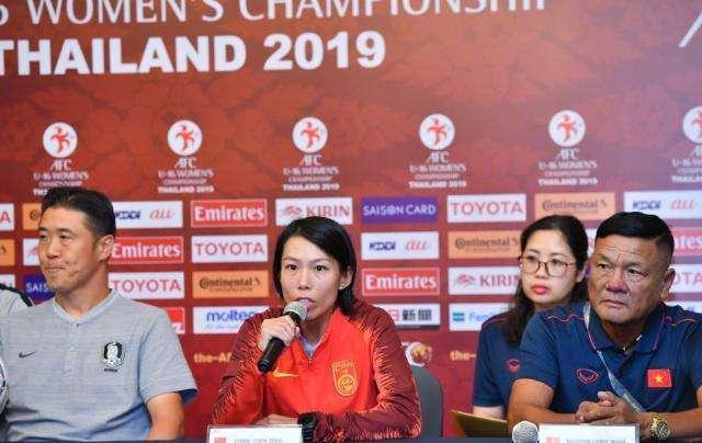 陈婉婷:行为女性能与球员众交流,接下来备战强敌朝鲜