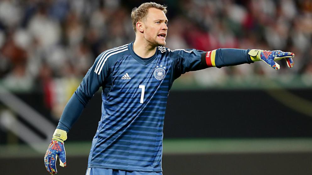 体图:诺伊尔考虑在2020欧洲杯后退出国家队