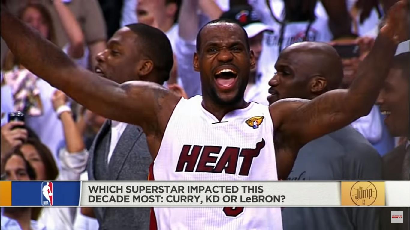 皮蓬:詹姆斯确实定义了这十年的NBA