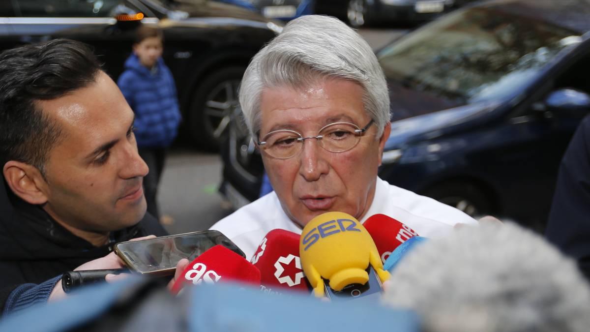 马竞主席:商议罚款巴萨300欧元这栽事有点儿不厉肃