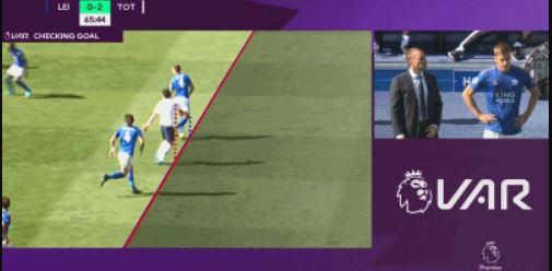 GIF:孙兴慜越位在先,奥里耶进球被判无效