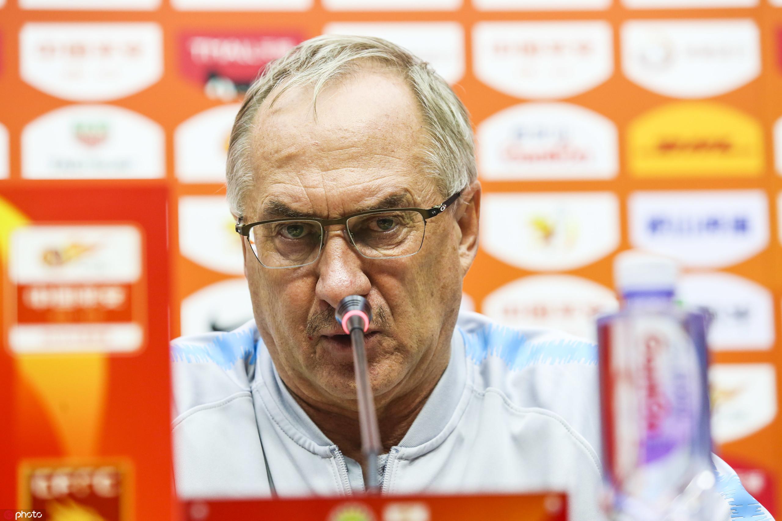 施蒂利克:球队退步了,输给排名不高的中原让我肉痛