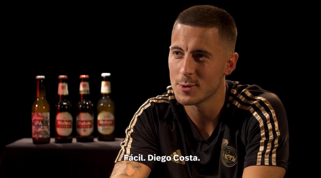 阿扎尔:想在马德里德比进球,为皇马球迷带来喜悦