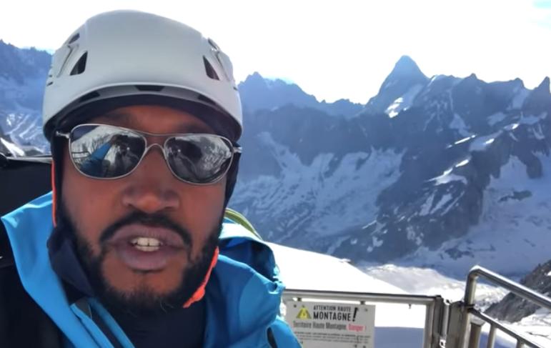勇攀高峰!迪奥登顶海拔4810米的西欧最高峰勃朗峰