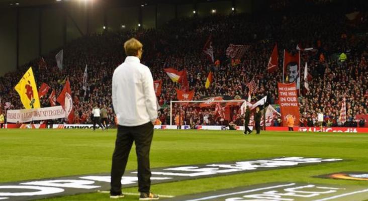 克洛普呼吁球迷营造欧战气氛:欧冠之夜靠我们所有人