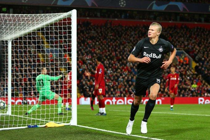未来仍可期!哈兰德成第4位前两场欧冠比赛进4球的球员