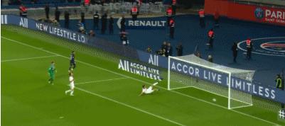 GIF:马踏连营,内马尔盘过门将推射入网,巴黎4-0