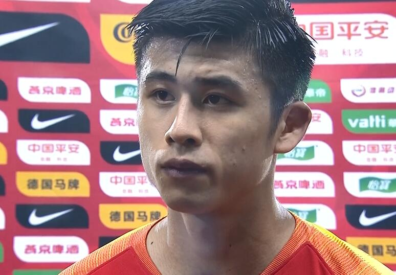 张玉宁:不论正赛还是友谊赛,都要对身上的国旗负责