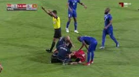 叙利亚头号球星赫里宾脚踝扭伤,或缺战与国足比赛