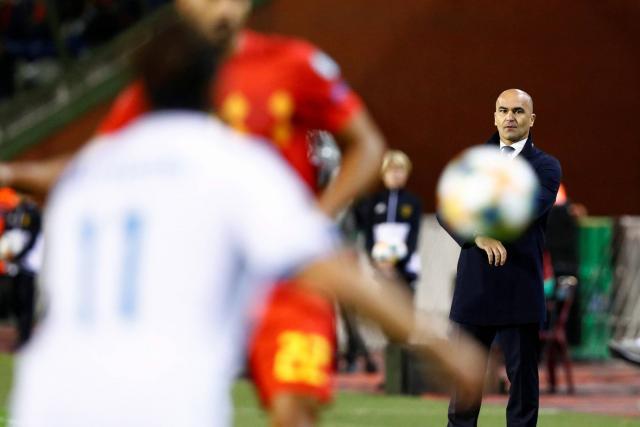 马丁内斯:9支球队有望拿下欧洲杯,比利时比18年更强