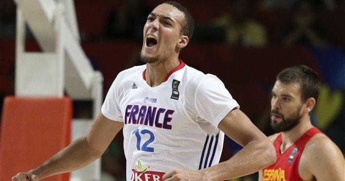 Rudy Gobert當選法國籃協年度最佳籃球運動員