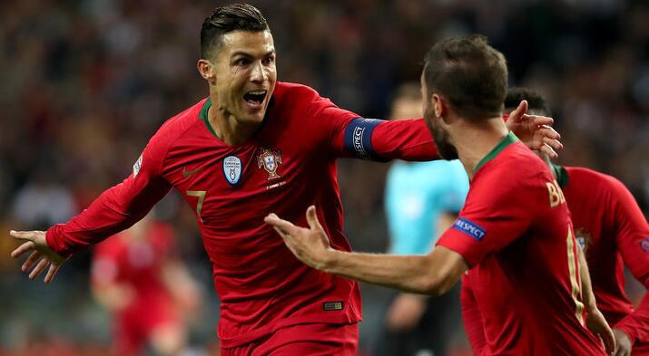 B席破僵C罗吊射格德斯替补建功,葡萄牙3-0卢森堡