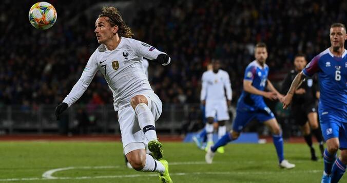 欧预赛:格列兹曼造点吉鲁点射制胜,法国客场1-0冰岛