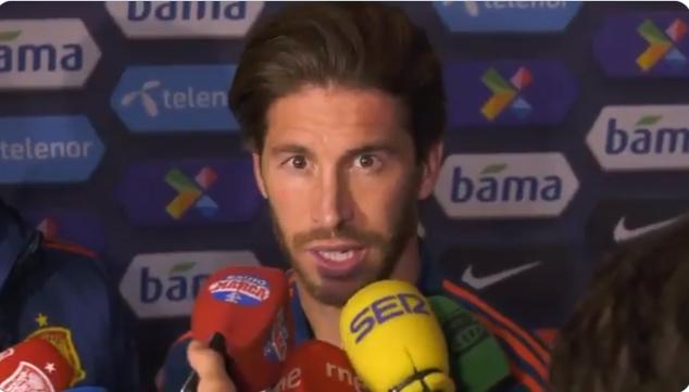 拉莫斯:如果伤病无碍,我希望参加2022年世界杯
