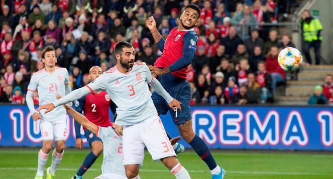 欧预赛:萨乌尔破门凯帕补时送点,西班牙客场1-1挪威