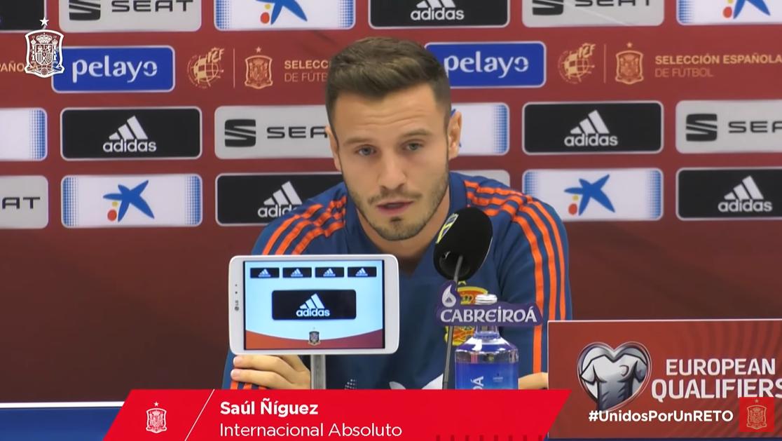 萨乌尔:我喜欢和布斯克茨踢球,他在球场上几乎不犯错
