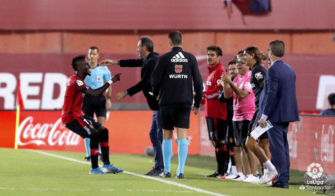 GIF:朱尼奥尔抽射破门,马略卡1-0领先皇马