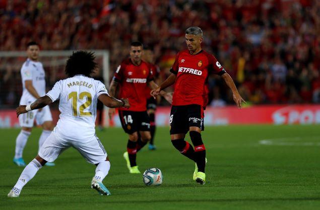 奥德里奥索拉染红本泽马中框,皇马客场0-1不敌马略卡