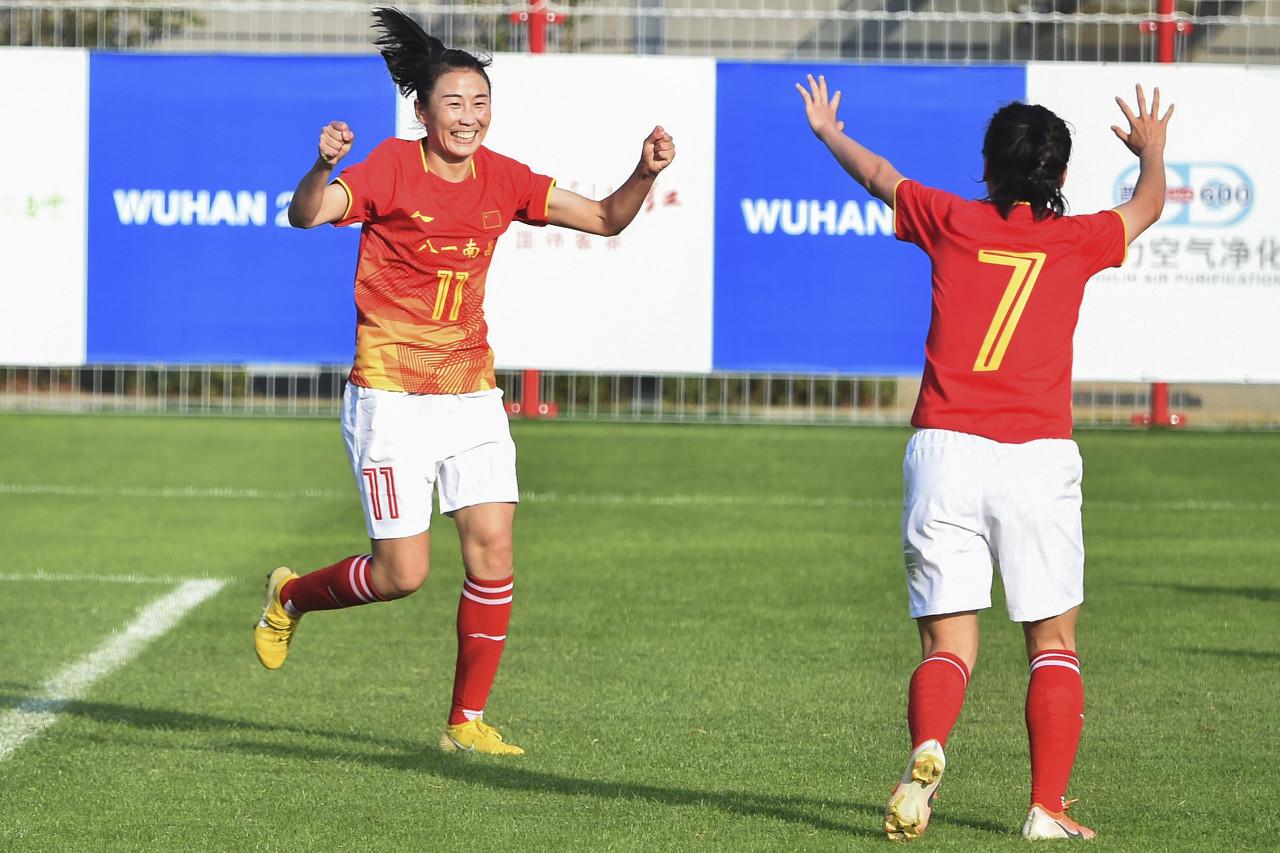 军运会:中国女足4-0美国,三战全胜小组第一出线