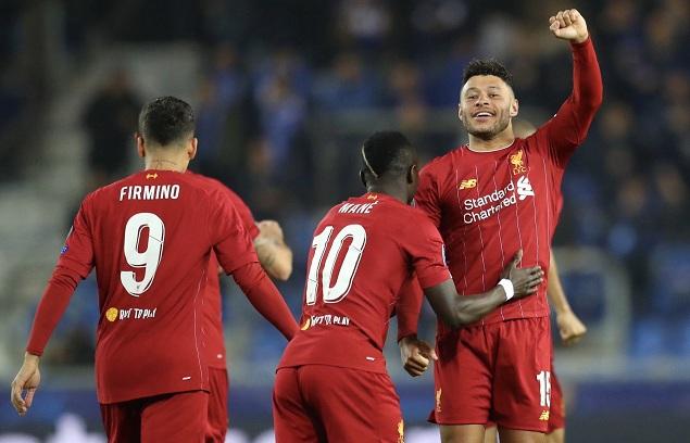 欧冠:张伯伦双响马内萨拉赫破门,利物浦客场4-1亨克