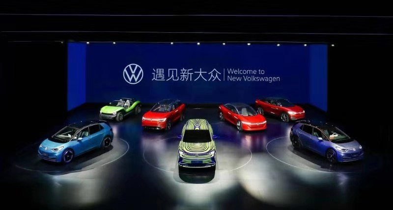 大众发布新品牌标识,ID.3落户上海大众量产