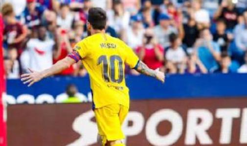 梅西近四年收获112粒西甲进球,领先第二名31球