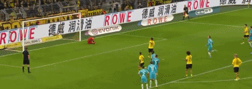 GIF:格策点射破门得分,助多特3-0领先狼堡