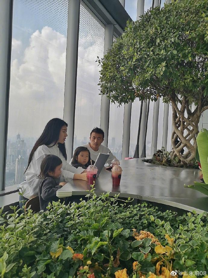 与家人探访朵云书院,王永珀:今天这一天还是受益匪浅