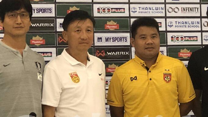 成耀东:不管对手是谁,亚青赛预选赛每场都要争3分