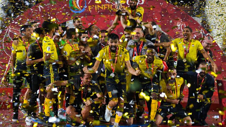 创造历史!黎巴嫩球队阿赫德夺得亚足联杯冠军