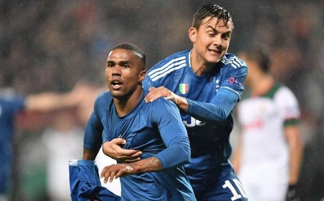 欧冠:拉姆塞破门科斯塔绝杀,尤文2-1火车头提前晋级