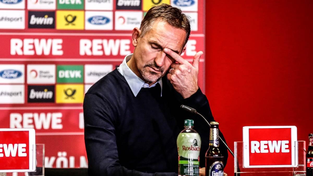 德媒:科隆主帅成为德甲第二位下课主帅,拉巴迪亚或接班