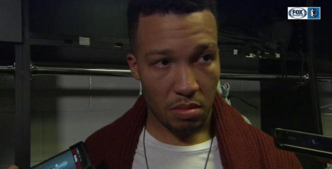 布伦森:波尔津吉斯投丢了一些他清淡能够命中的投篮