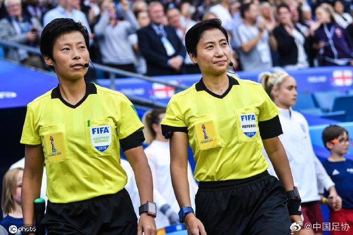 官方:中国女子国际级裁判员秦亮、方燕将执法女足亚冠