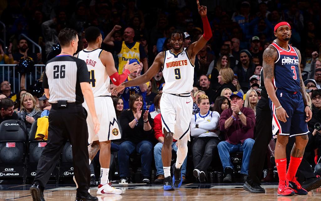 赛季新高!格兰特全场13投7中得到20分4篮板2抢断-广东体育频道在线直播观看